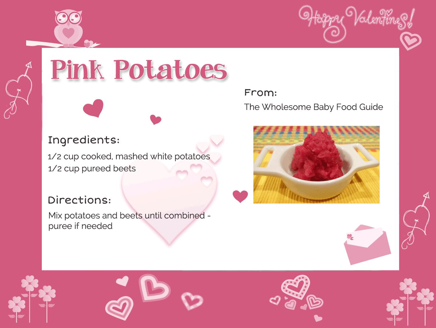 Valentine's Day Recipe Card