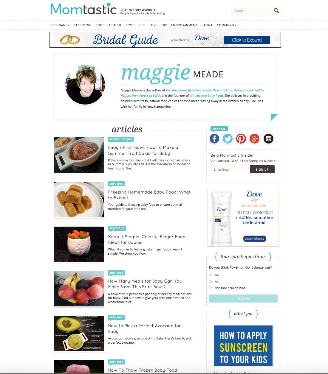 content creation  u2013 maggie meade  u2013 author  digital