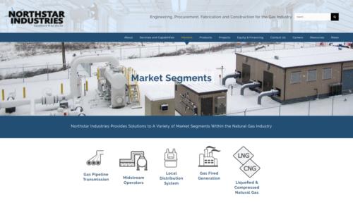 Northstar Industries - Market Segements